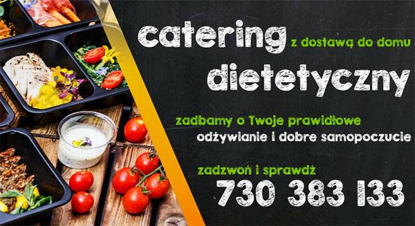 Catering dietetyczny z dostawą do domu