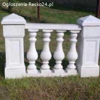 TRALKI BETONOWE - Figury ogrodowe, Fontanny, Wazony
